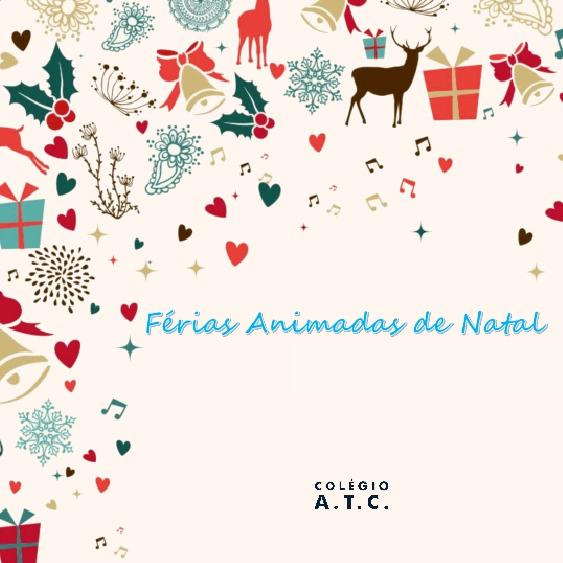 Ferias Animadas De Natal Do Colegio Atc